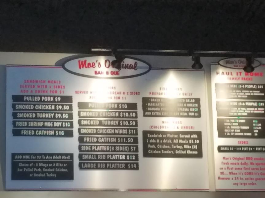 Moe's Original Bar-B-Que