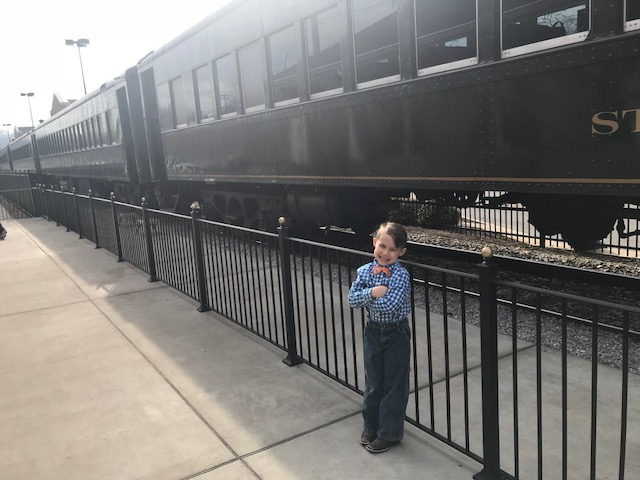 We Have a Train!