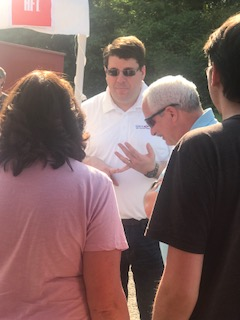 Representative Eddie Smith and A HugeKickoff