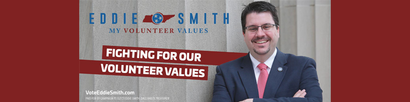 Welcome Re-Elect Eddie Smith